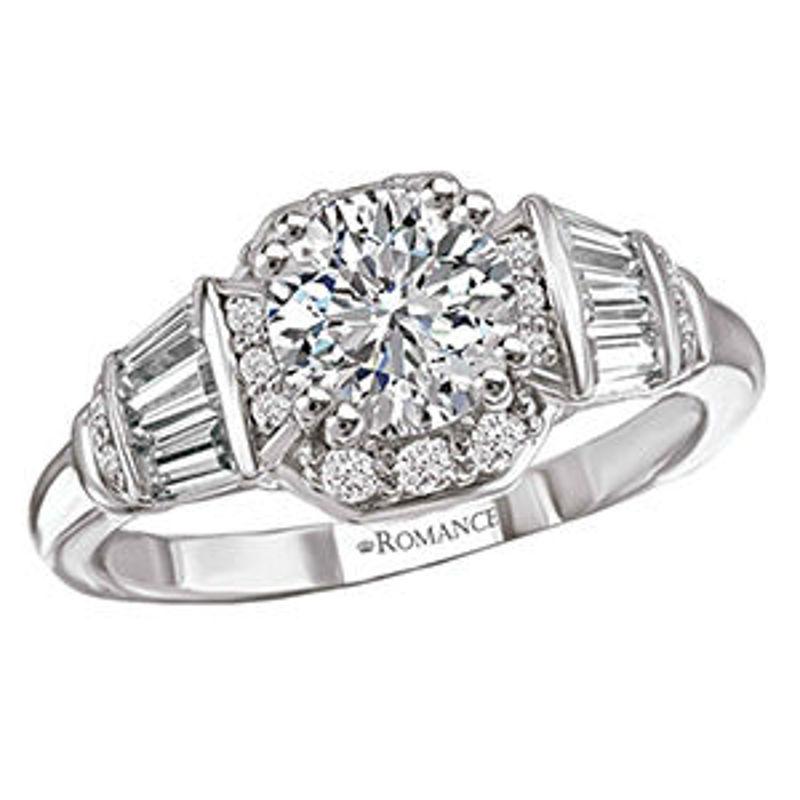 Picture of Vintage Semi-Mount Diamond Ring 2   Diamond Engagement Rings