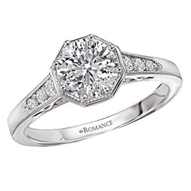 Picture of Vintage Semi-Mount Diamond Ring 3 | Diamond Engagement Rings