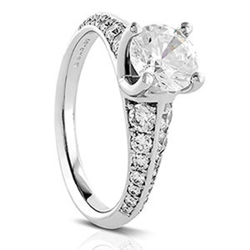 Picture of R610   Diamond Engagement Rings