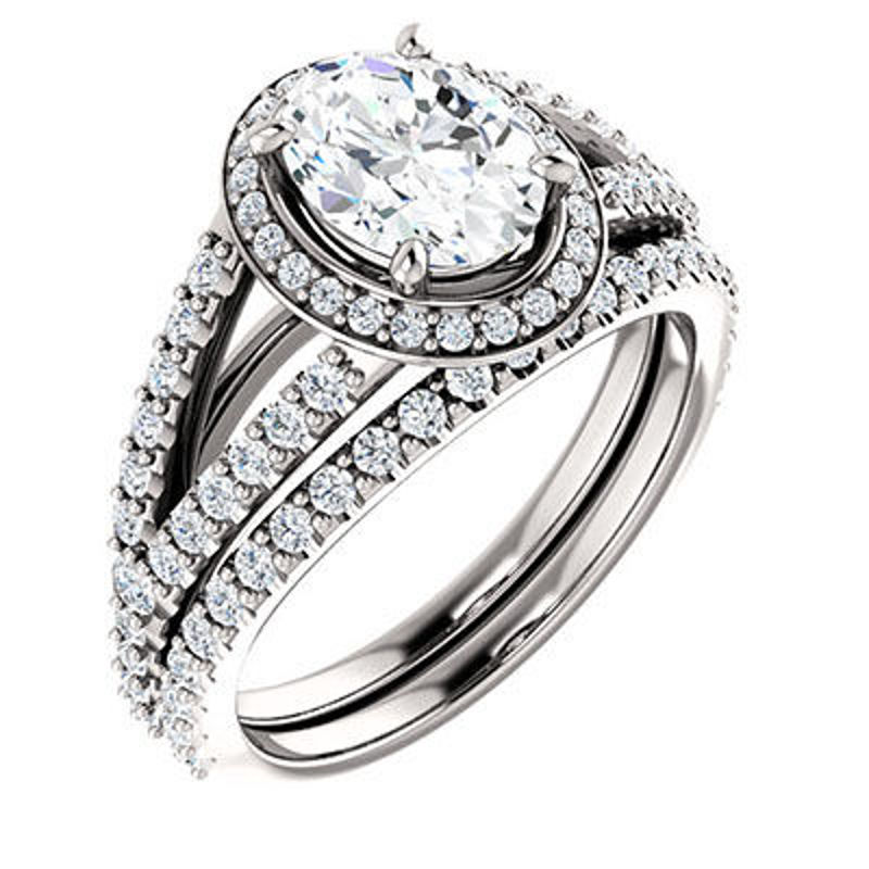 Picture of EDS-122986   Diamond Engagement Rings