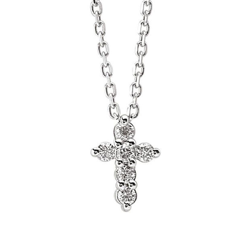Picture of Diamond Cross Pendant