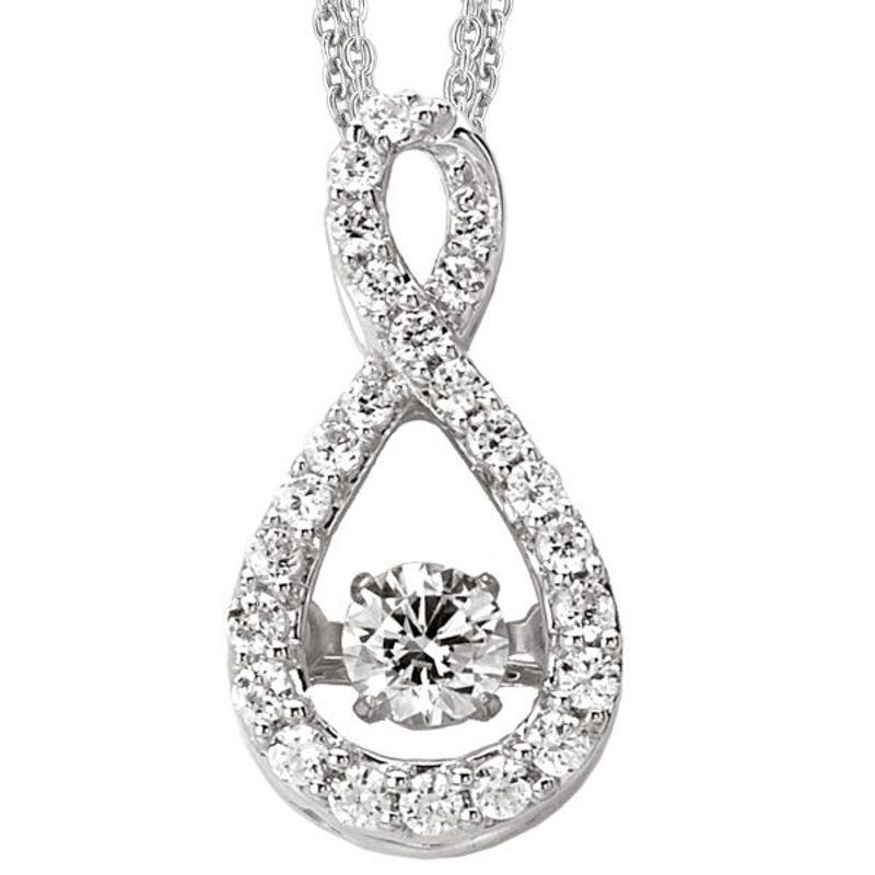 Picture of Ladies Diamond Pendant