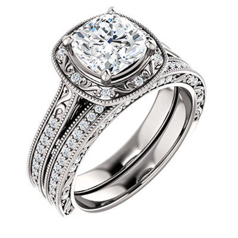 Picture of EDS-123038   Diamond Engagement Rings