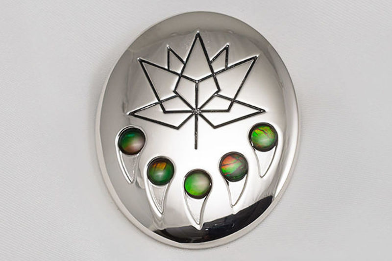 Picture of Canada 150 Official Silver Bear Claw Pin