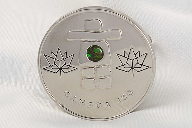 Picture of Canada 150 Official Silver Coin