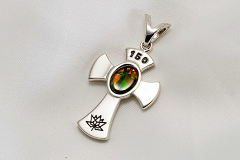 Picture of Canada 150 Official Silver Cross