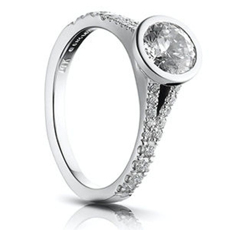 Picture of R615-1D | Diamond Engagement Rings
