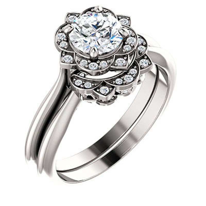 Picture of EDS-123505 | Diamond Engagement Rings