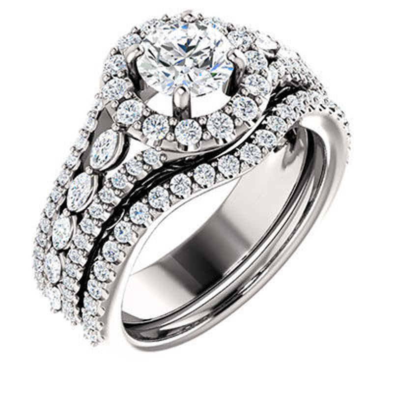 Picture of EDS - 123514W | Diamond Engagement Rings